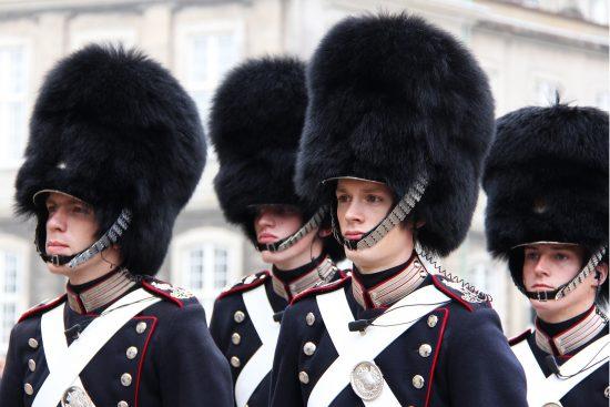 Royal Guard at Amalienborg Palace