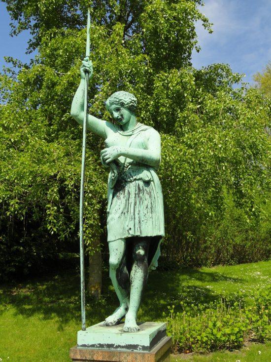 Garden Sculpture, Copenhagen Botanical Garden