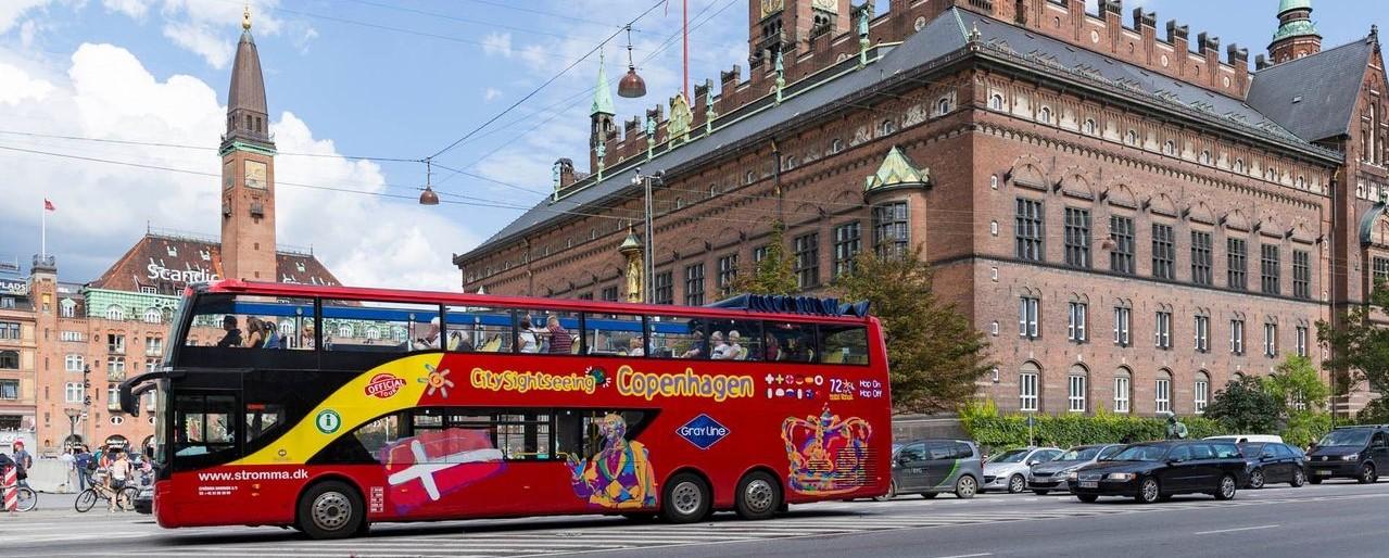 Copenhagen Bus Tour: Hop on – Hop off Bus Network