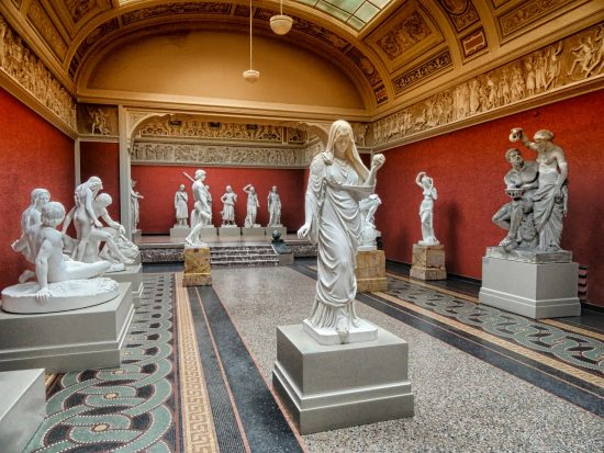 Sculptures in Glyptoteket