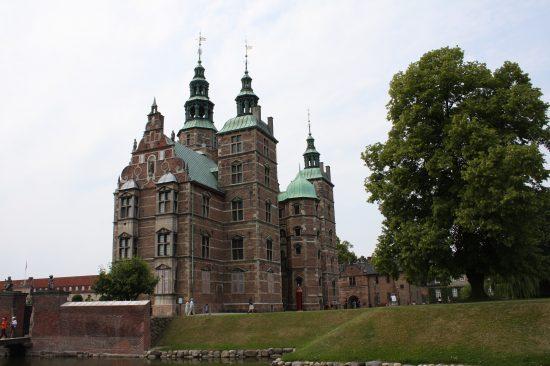 Rosenborg Castle seen from the moat