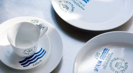 Royal Copenhagen Tea Set