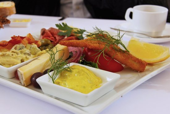 Danish herring platter